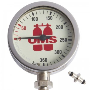 Manometr OMS SPG 63 mm 360 bar
